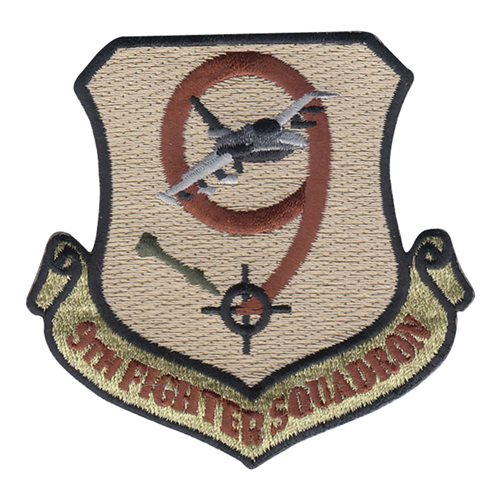 9 FS Iraqi Air Force International Custom Patches