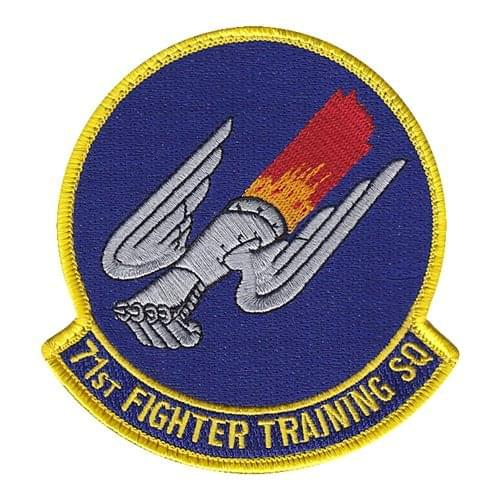 71 FTS Langley AFB, VA U.S. Air Force Custom Patches