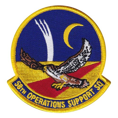 58 OSS Kirtland AFB U.S. Air Force Custom Patches