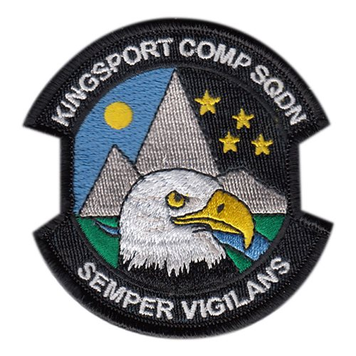 Kingsport Composite Squadron Civil Air Patrol Custom Patches