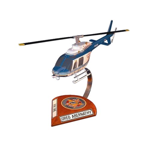 Bell 206 Jet Ranger Helicopter Aircraft Models