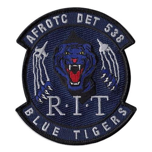 AFROTC Det 538 Rochester Institute of Technology Air Force ROTC ROTC and College Patches Custom Patches