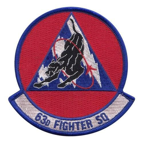 63 FS Luke AFB U.S. Air Force Custom Patches