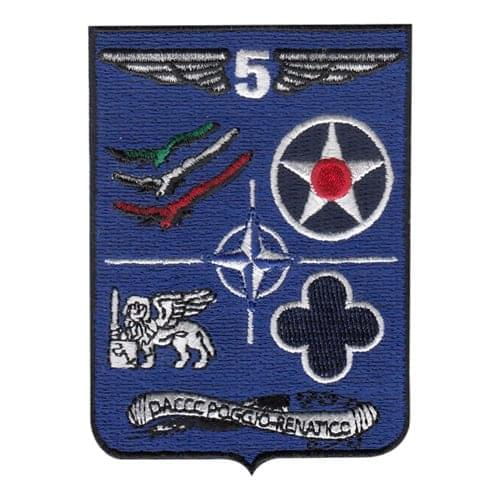 DACCC International Custom Patches