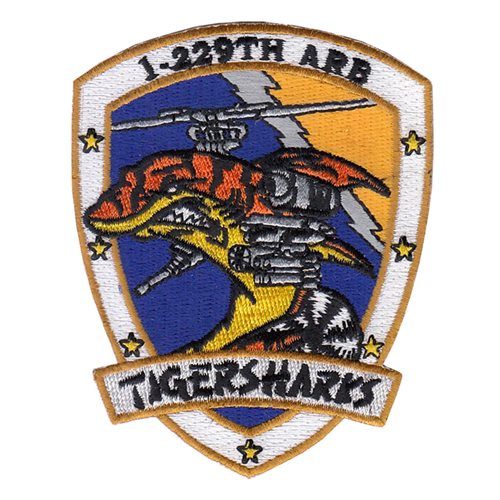 1-229 ARB U.S. Army Custom Patches