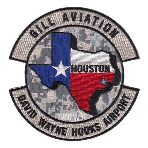 Gill Aviation Civilian Custom Patches