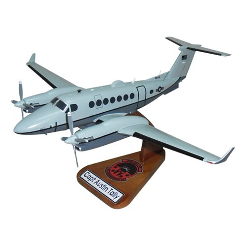 MC-12W Project Liberty Reconnaissance Aircraft Models