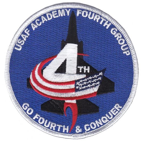 USAFA Fourth Group USAF Academy U.S. Air Force Custom Patches