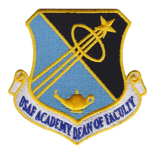 Air Force Academy Dean Of Faculty Announces Retirement: USAFA Dean Of Faculty Custom Patches