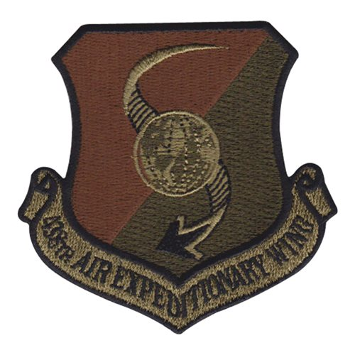 438 AEW International Custom Patches