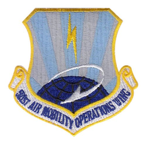 521 AMOW Ramstein AB U.S. Air Force Custom Patches