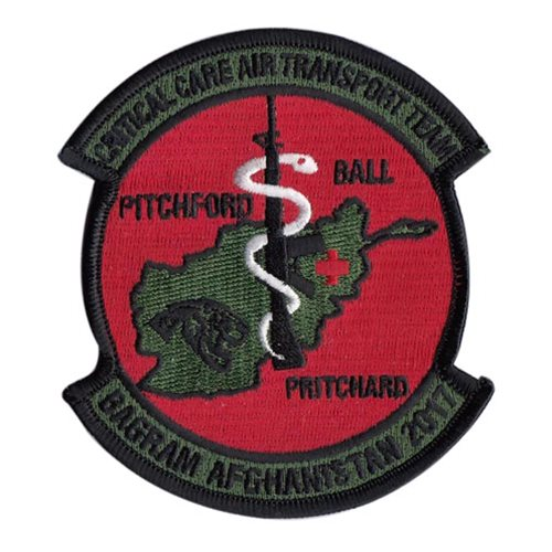 Pritchard CCATT CCATT U.S. Air Force Custom Patches