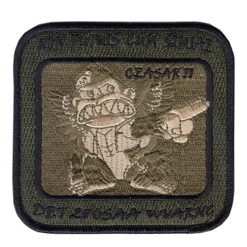 Det 28 OSAA U.S. Army Custom Patches