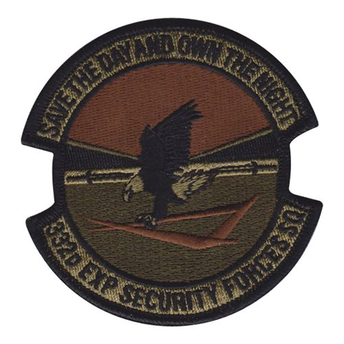 332 ESFS 332 AEW International Custom Patches
