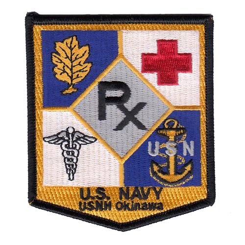 U.S. Naval Hospital U.S. Navy Custom Patches