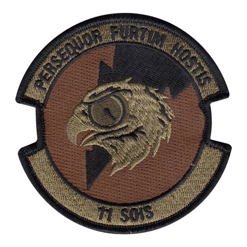 11 SOIS Hurlburt Field, FL U.S. Air Force Custom Patches