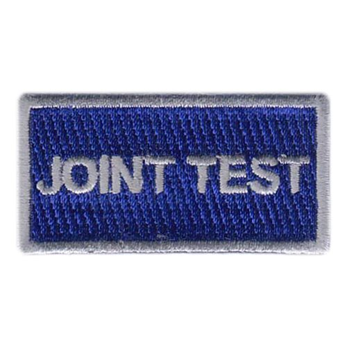 Joint Test Program Nellis AFB U.S. Air Force Custom Patches