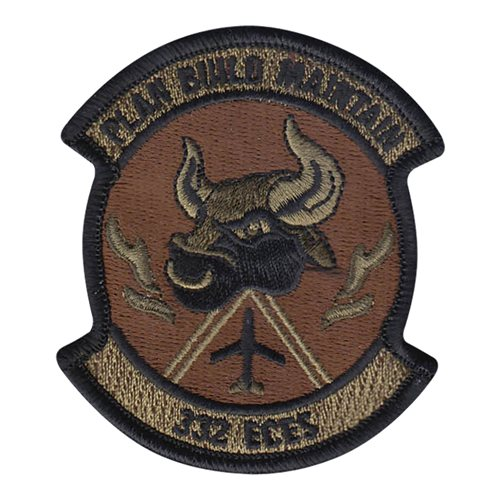332 ECES 332 AEW International Custom Patches