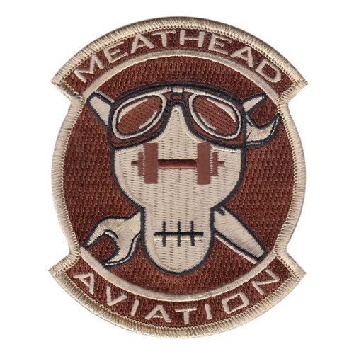 Meathead Aviation Flight Civilian Custom Patches