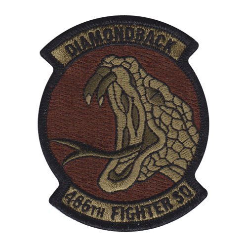 466 FS Hill AFB U.S. Air Force Custom Patches