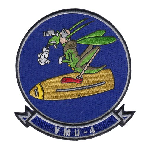 VMU-4 USMC Custom Patches