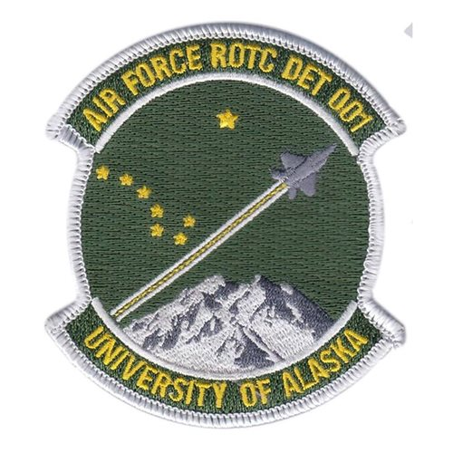 AFROTC Det 001 ALASKA UNIVERSITY AFROTC College, ROTC, Academy Patches Custom Patches