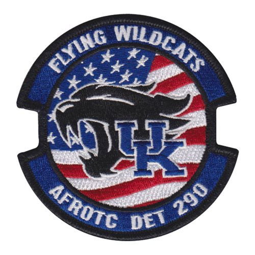 AFROTC Det 290 University of Kentucky Pencil Patch AFROTC Custom Patches