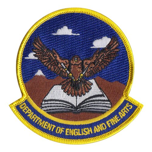 USAFA English Department USAF Academy U.S. Air Force Custom Patches