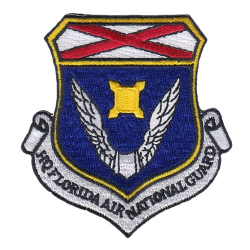 HQ Florida National Guard ANG Florida Air National Guard U.S. Air Force Custom Patches