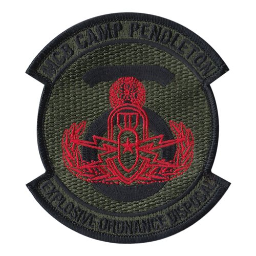 MCB EOD USMC Custom Patches