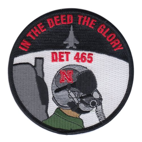 AFROTC Det 465 University of Nebraska Air Force ROTC ROTC and College Patches Custom Patches