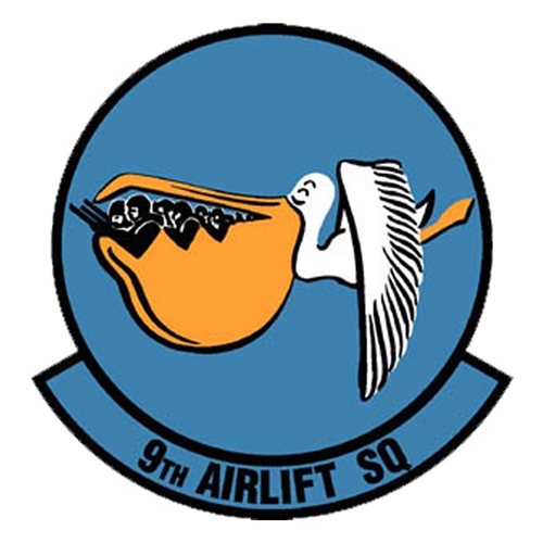 9 AS Dover AFB U.S. Air Force Custom Patches