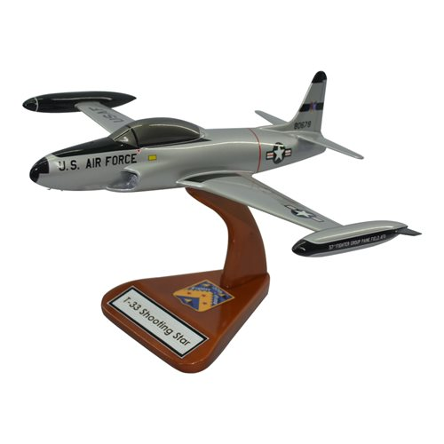 T-33 Shooting Star Trainer Aircraft Models