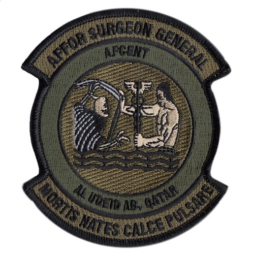 AFCENT International Custom Patches