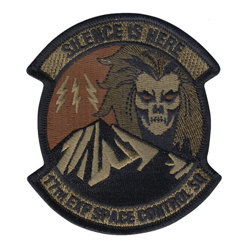 17 ESPCS Peterson AFB U.S. Air Force Custom Patches