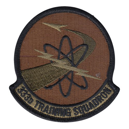 333 TRS Keesler AFB U.S. Air Force Custom Patches