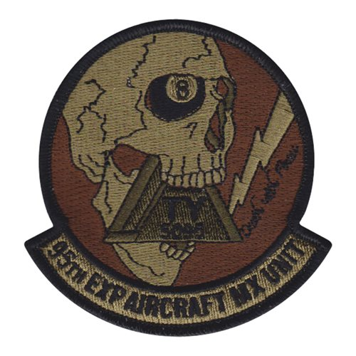 95 EAMXS Tyndall AFB, FL U.S. Air Force Custom Patches
