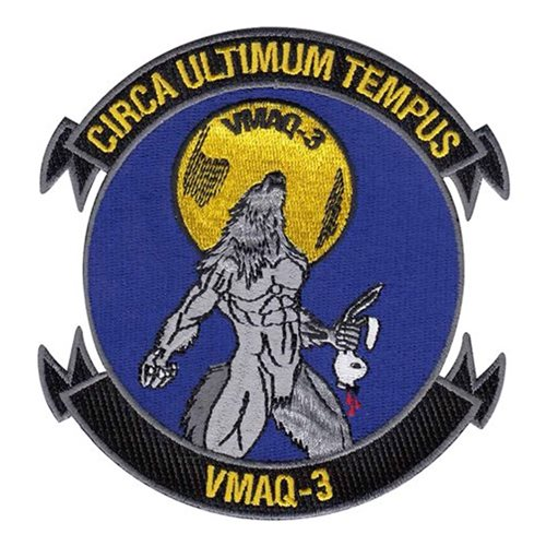 VMAQ-3 MCAS Cherry Point USMC Custom Patches
