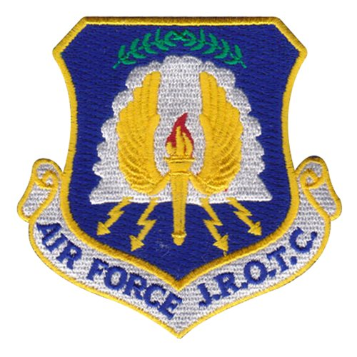 High School AFJROTC Custom Patches