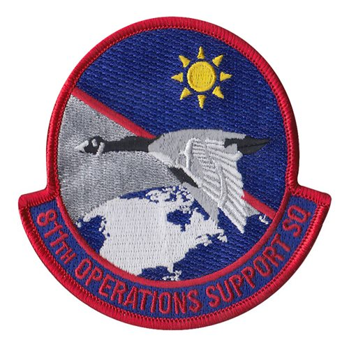 811 OSS Andrews AFB, MD U.S. Air Force Custom Patches