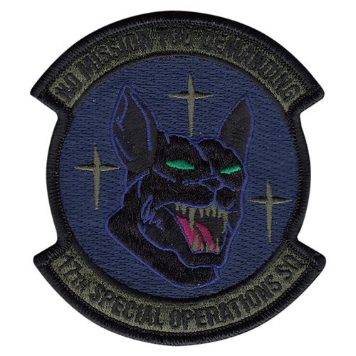 17 SOS Kadena AB, Japan U.S. Air Force Custom Patches