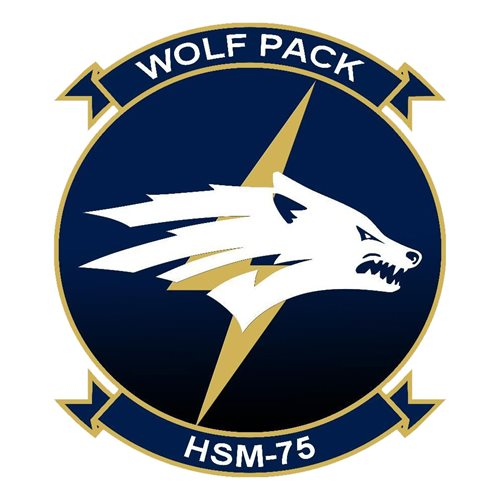 HSM-75 NAS North Island U.S. Navy Custom Patches