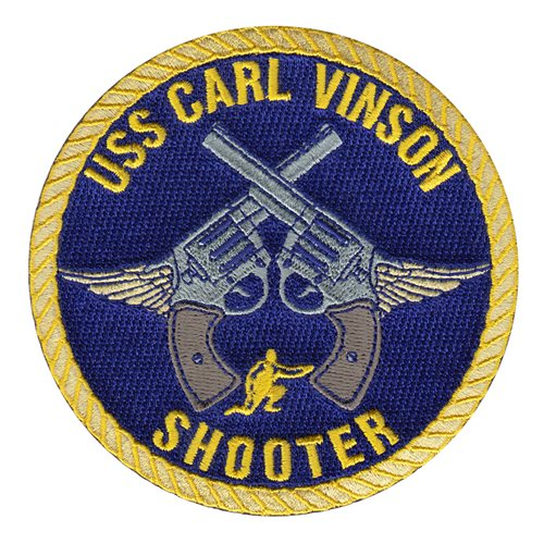 CVN-70 NAS North Island U.S. Navy Custom Patches