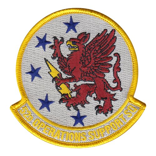52 OSS Spangdahlem AB U.S. Air Force Custom Patches