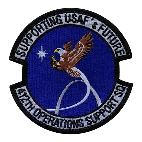412 OSS Edwards AFB, CA U.S. Air Force Custom Patches