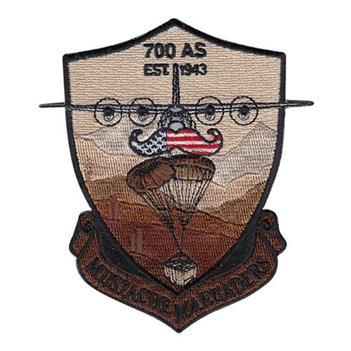 700 AS Dobbins ARB U.S. Air Force Custom Patches