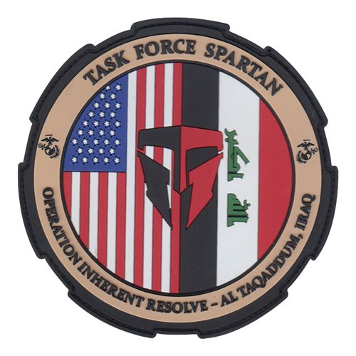 Task Force Spartan International Custom Patches