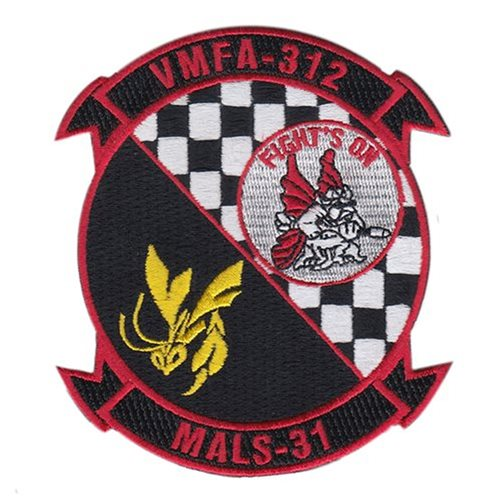 VMFA-312 MCAS Beaufort USMC Custom Patches