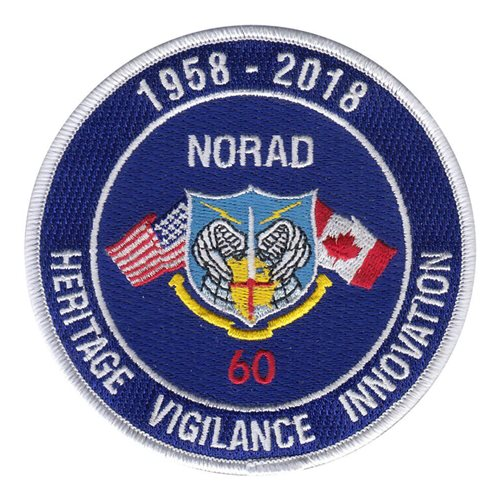 NORAD USNORTHCOM Peterson AFB U.S. Air Force Custom Patches