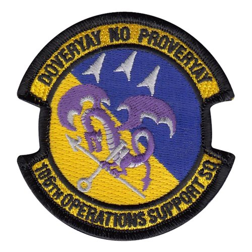 106 OSS ANG New York Air National Guard U.S. Air Force Custom Patches